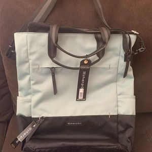 Sherpani travel Tote, convertible backpack